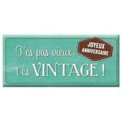 Chocolat T'es Pas Vieux...