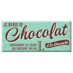 Chocolat Je Mange Du Chocolat Uniquement...