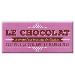 Chocolat Le Chocolat...