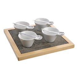 SET APERO 9 PCS CARRE