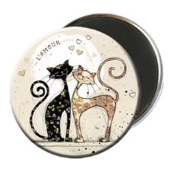MAGNET ROND CHATS