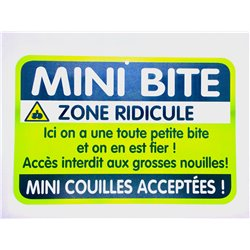 Plaque porte Mini Bite