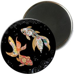 MAGNET ROND JEWELS POISSON