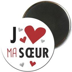 MAGR10J009 - MAGNET ROND COUP DE COEUR