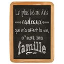 Wood Sign Cadeaux - 20 x 30 cm printed MDF