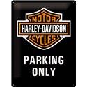 Tin Sign 30x40 Harley Davidson