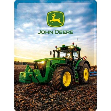 Tin Sign 30x40 John Deere Photo Modell