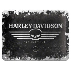 Tin Sign 15x20 Harley Davidson