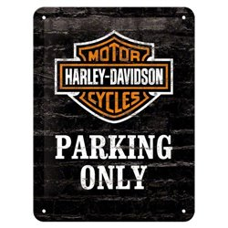 Tin Sign 15x20 H.D. Parking Only