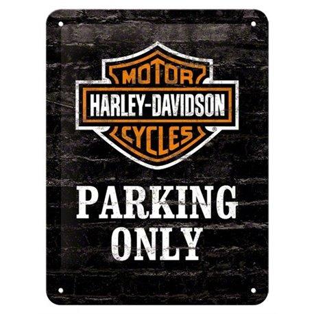 Tin Sign 15x20 H.D. Parking Only