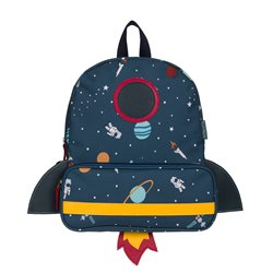 Back Pack - Polyester - Space (shaped)