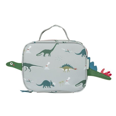 Oilcloth Lunch Bag (small) - Dinosaurs