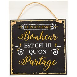Plaque Deco le + grand