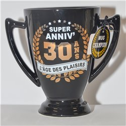 Mug Champion 30 ans