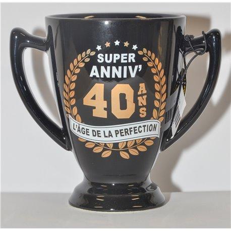 Mug Champion 40 ans