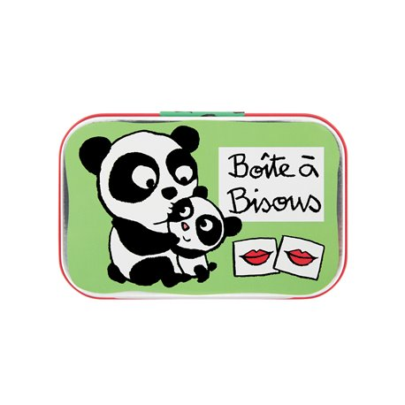 Boite à Bisous Panda vert