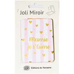 Joli Miroir Mamie je t'aime