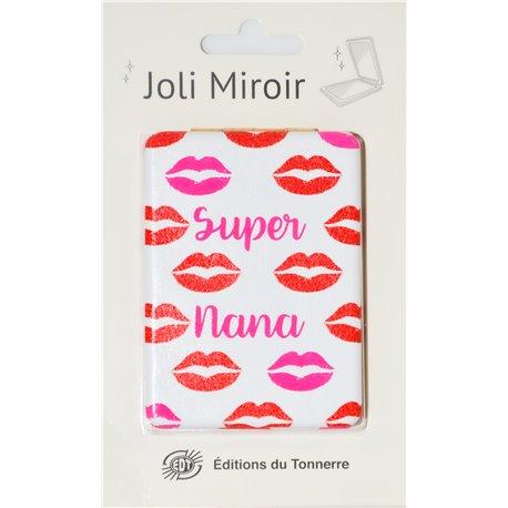 Joli Miroir Super Nana