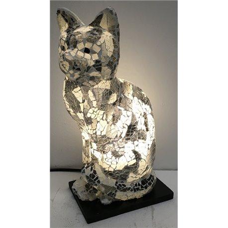 lampe chat mosaïque 300m