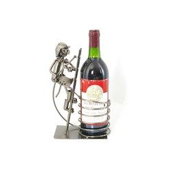 CACHE BOUTEILLE POMPIER S/ECHELLE WINE