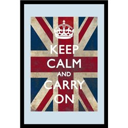 MIROIR KEEP CALM AND CARRY ON