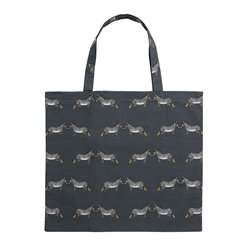Folding Shopping Bags - ZSL - Zebra