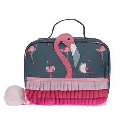 Lunch Bag (small) -Flamingos