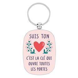 Porte-clés OPAT Je suis ton cœur