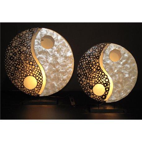 Lampes Ying Yang grand