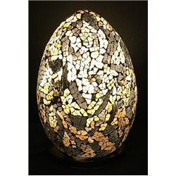 Lampe oeuf gold 15cm