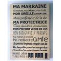 Plaque Marraine