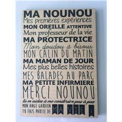 Plaque Nounou