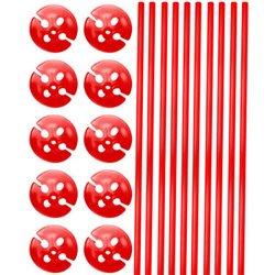 Bâtonnets de Ballon Rouge