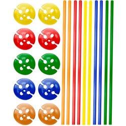 Bâtonnets de Ballon Multicolores