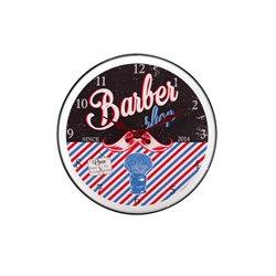 PENDULE METAL 'BARBER'