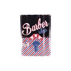 PLAQUE DECO ONDULEE 'BARBER'