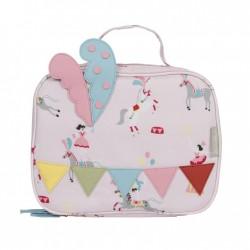 Lunch Bag (small) -Flamingos