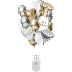 Réservoir Hélium Balloongaz 30 'Celebrate'