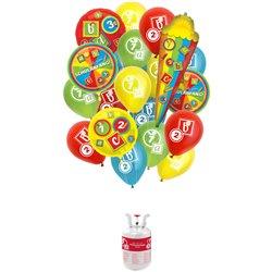 Réservoir Hélium Balloongaz 30 'Schulanfang''