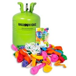 Réservoir Hélium Balloongaz avec 50 Ballons et Ruban