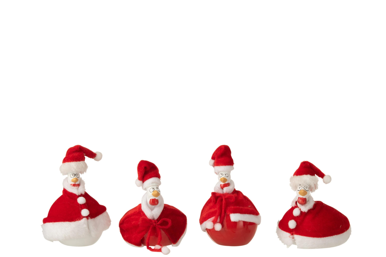Poule Père Noël avec cape