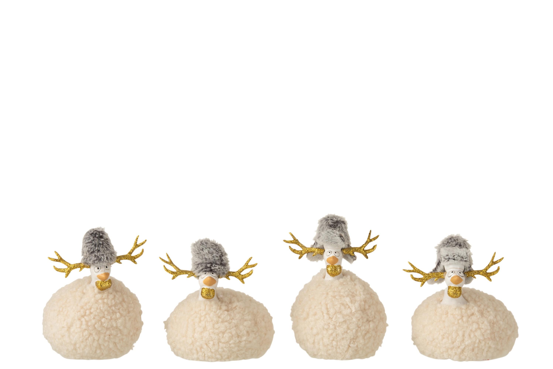 Poules fourrures