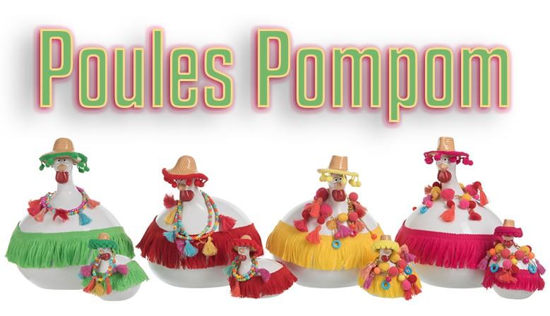 Poules Pompom
